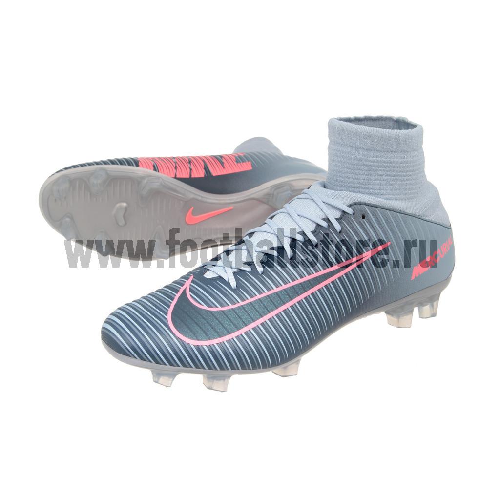 Игровые бутсы Nike Бутсы Nike Mercurial Veloce III DF FG 831961-400 nike nike mercurial lite