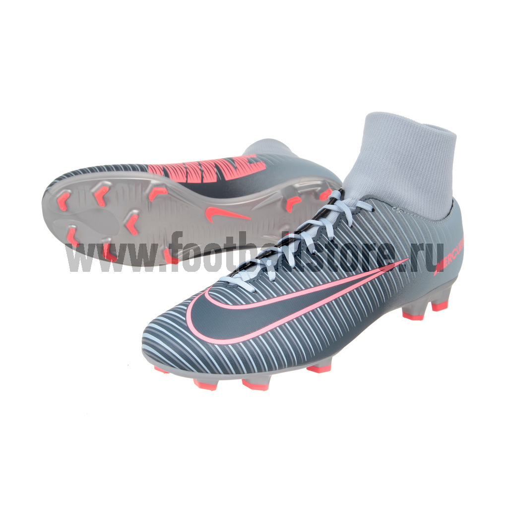 Игровые бутсы Nike Бутсы Nike Mercurial Victory VI DF FG 903609-400 nike nike mercurial lite