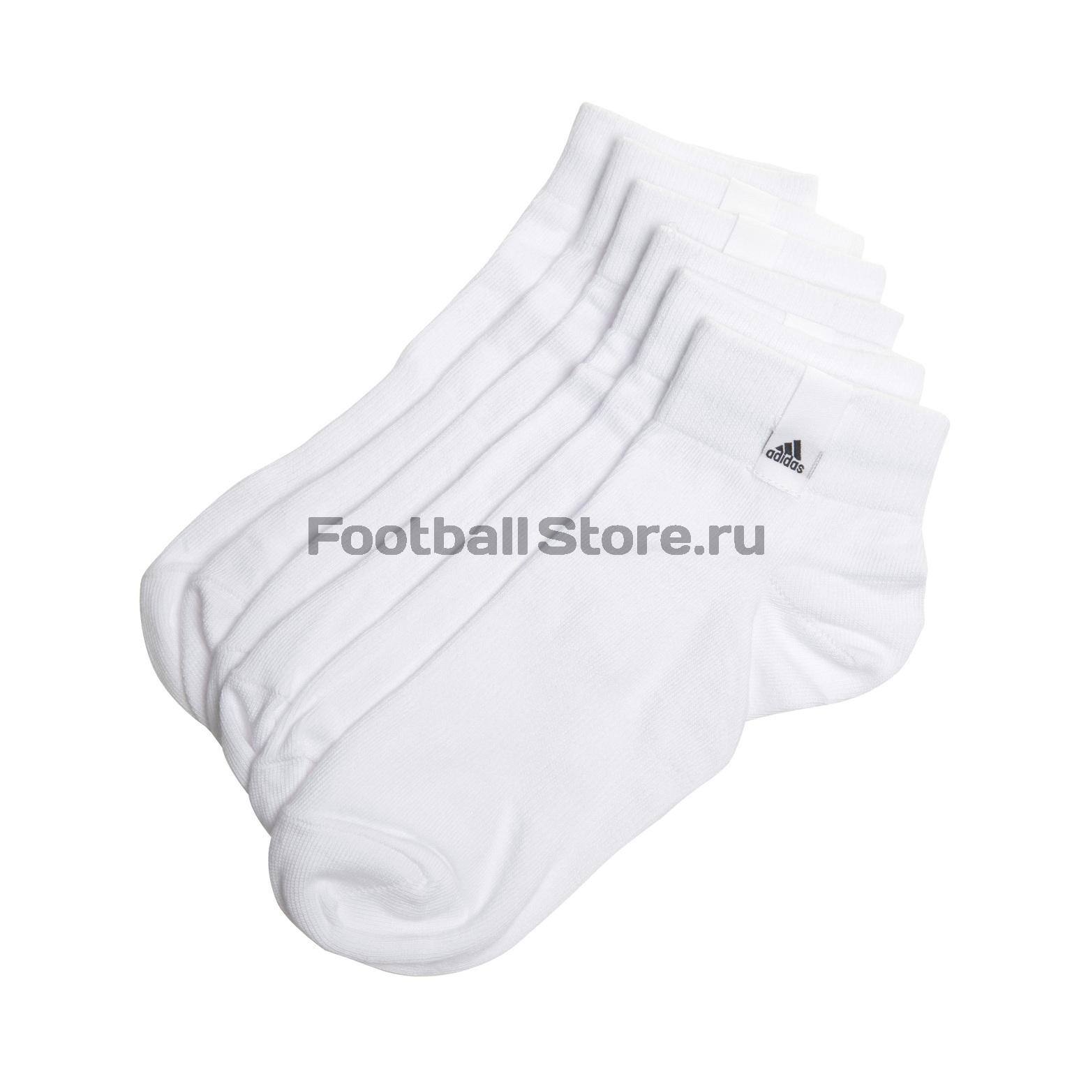 где купить Комплект носков Adidas Label Thin Ankle 3-Pack AA2483 по лучшей цене