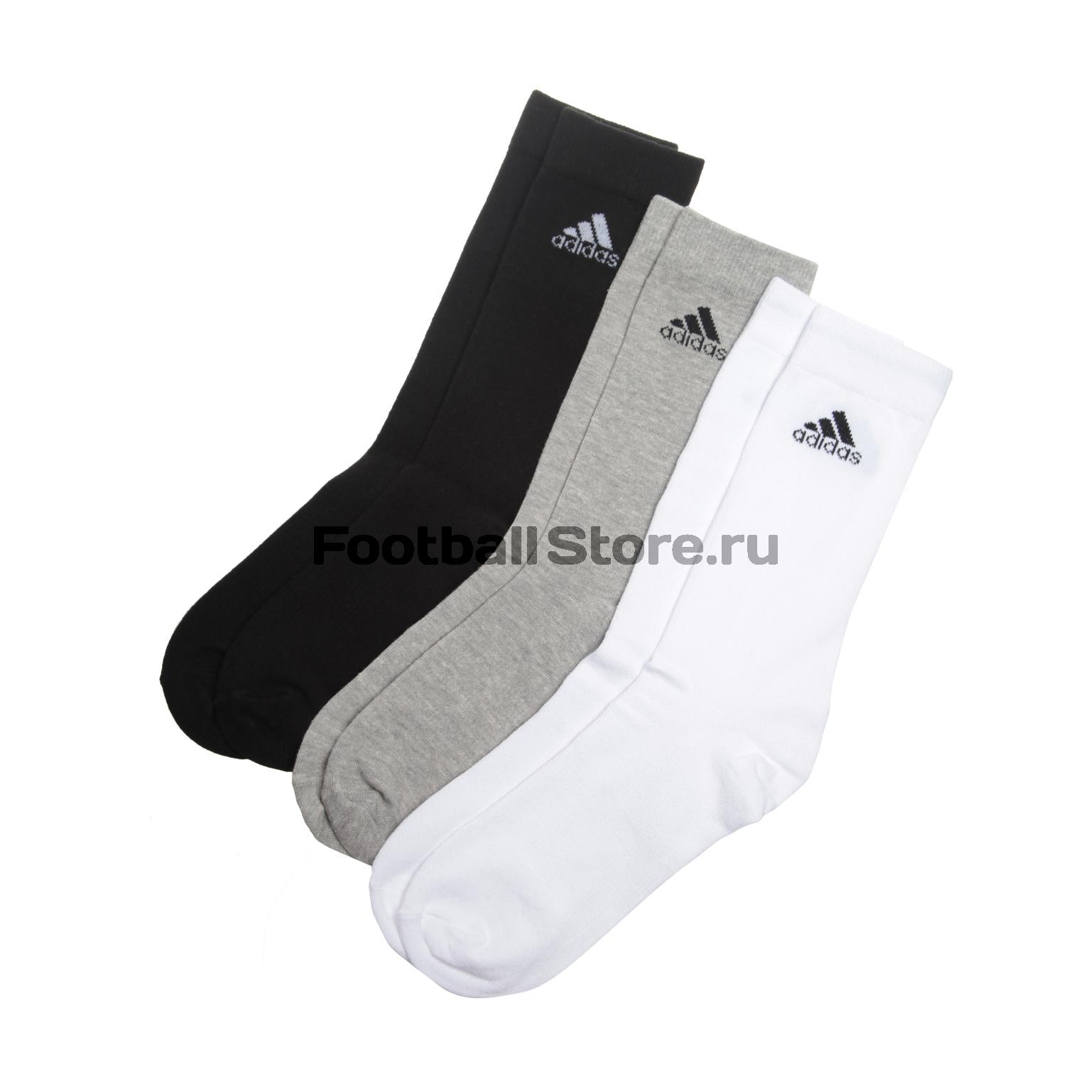 Носки Adidas Комплект носков Adidas Perfomance Crew 3PP AA2331