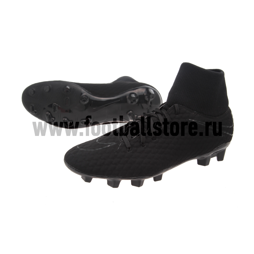Бутсы Nike Hypervenom Phelon 3 DF FG 917764-001 nike бутсы для мальчиков nike phantomx 3 club tf