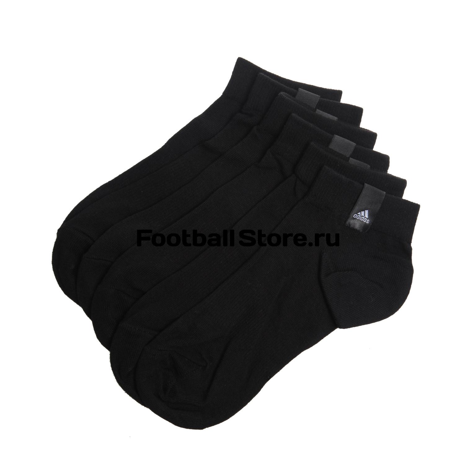 Комплект носков Adidas Label Thin Ankle 3-Pack AA2484 носки adidas носки per la ankle 3p