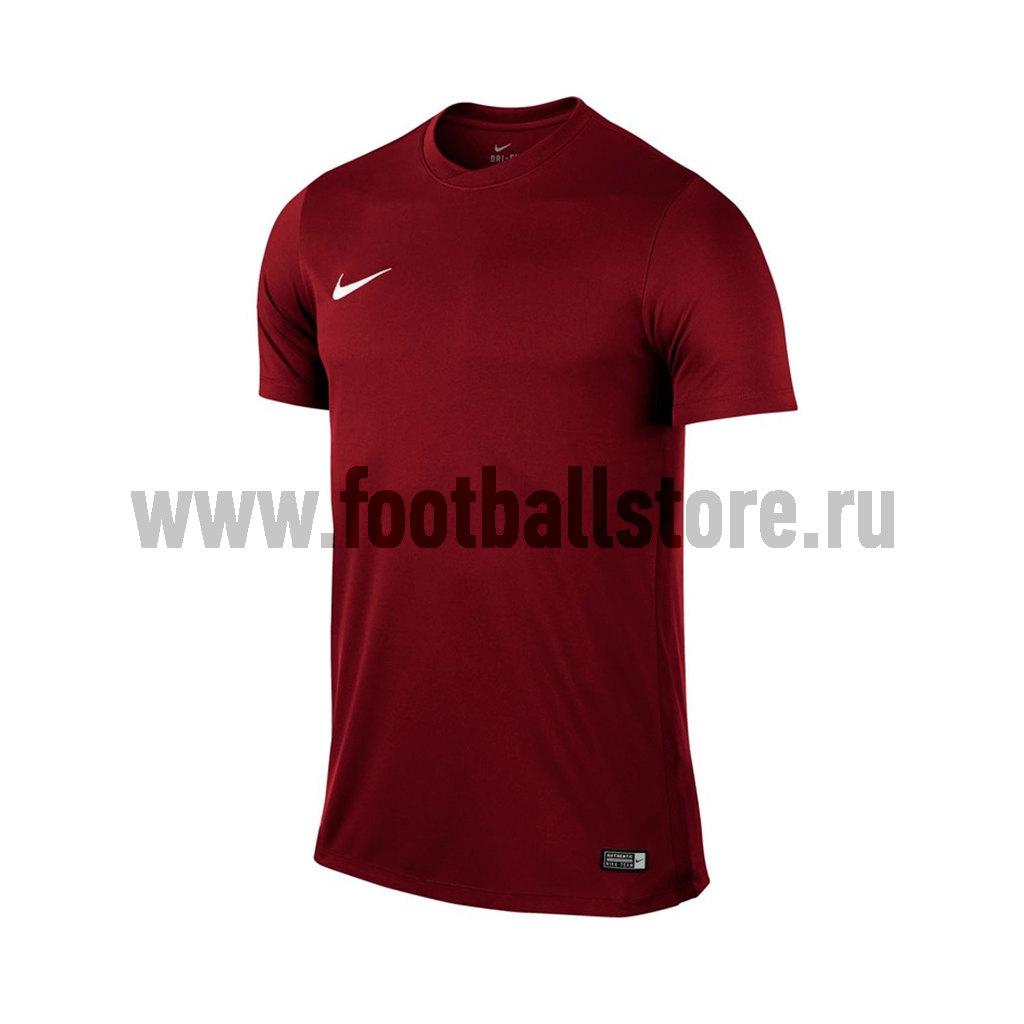 Игровая форма Nike Футболка Nike SS Park VI JSY Boys 725984-677 игровая форма nike шорты игровые nike boys park ii nb 725988 677