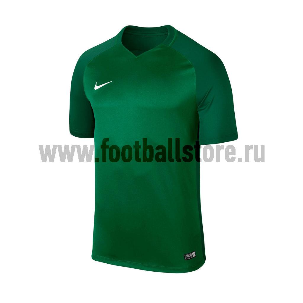 Футболка игровая Nike Trophy III 881483-302 футболка игровая nike dry tiempo prem jsy ss 894230 411