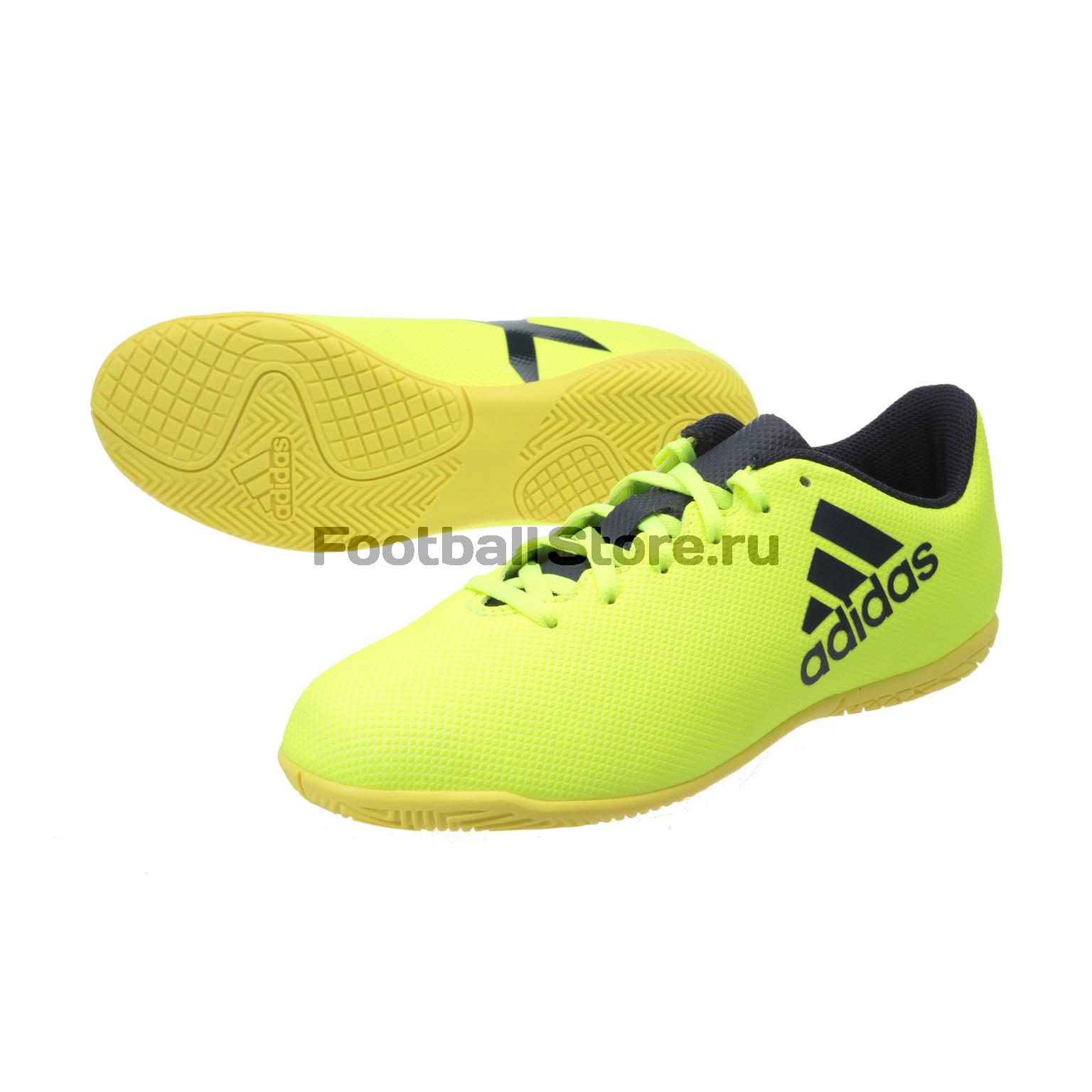 Обувь для зала Adidas X 17.4 IN JR S82410 обувь для зала adidas ace tango 18 3 in jr cp9075