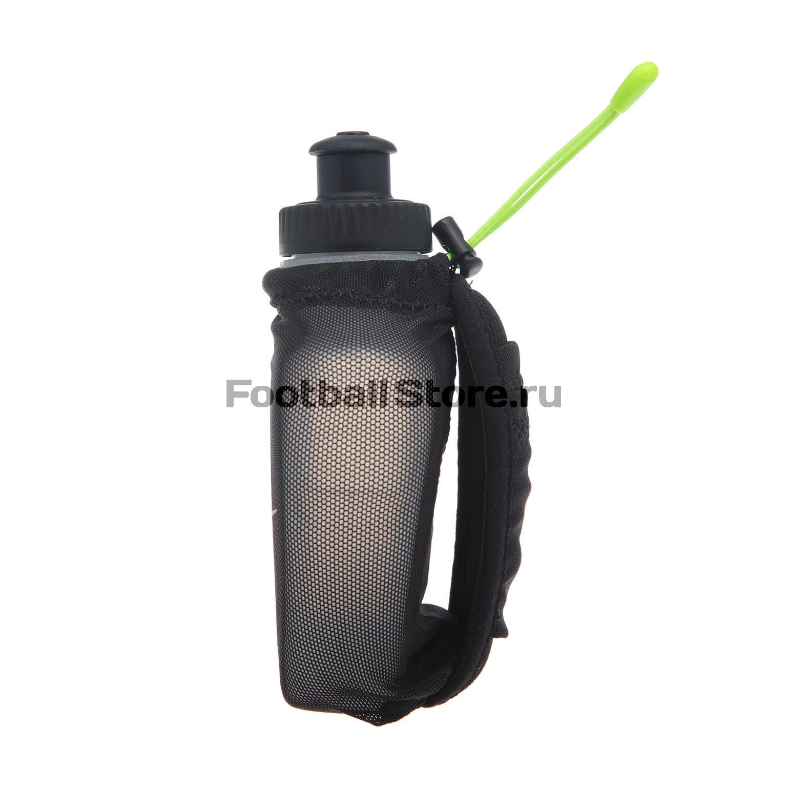 Бутылка для воды с держателем Nike Lean 6 OZ Hand N.RL.49.023.NS бутылка для воды nike 0 65 л big mouth water bottle nob17 968 прозр чер