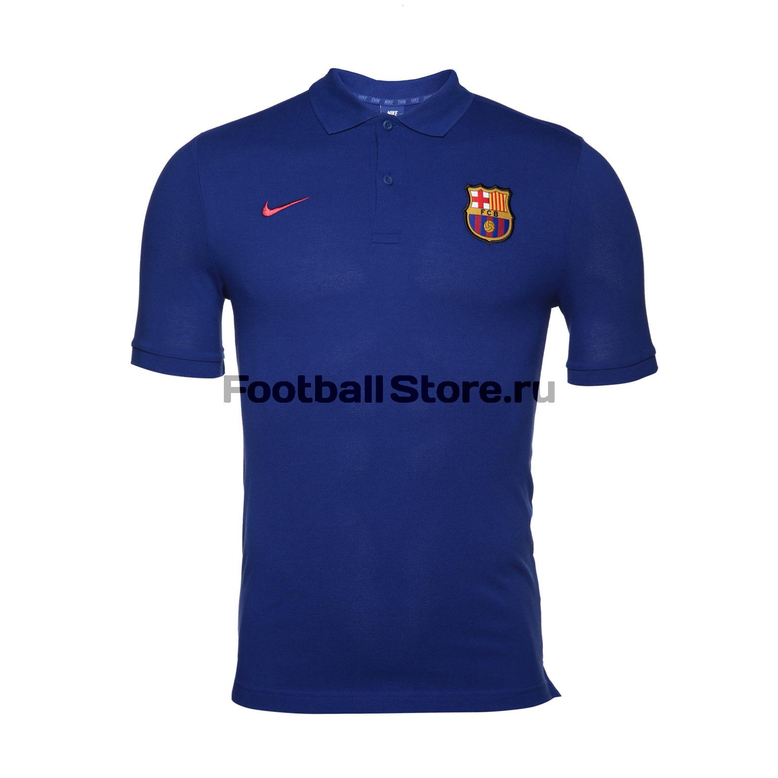 Barcelona Nike Поло Nike Barcelona Polo PQ Cre 886781-455