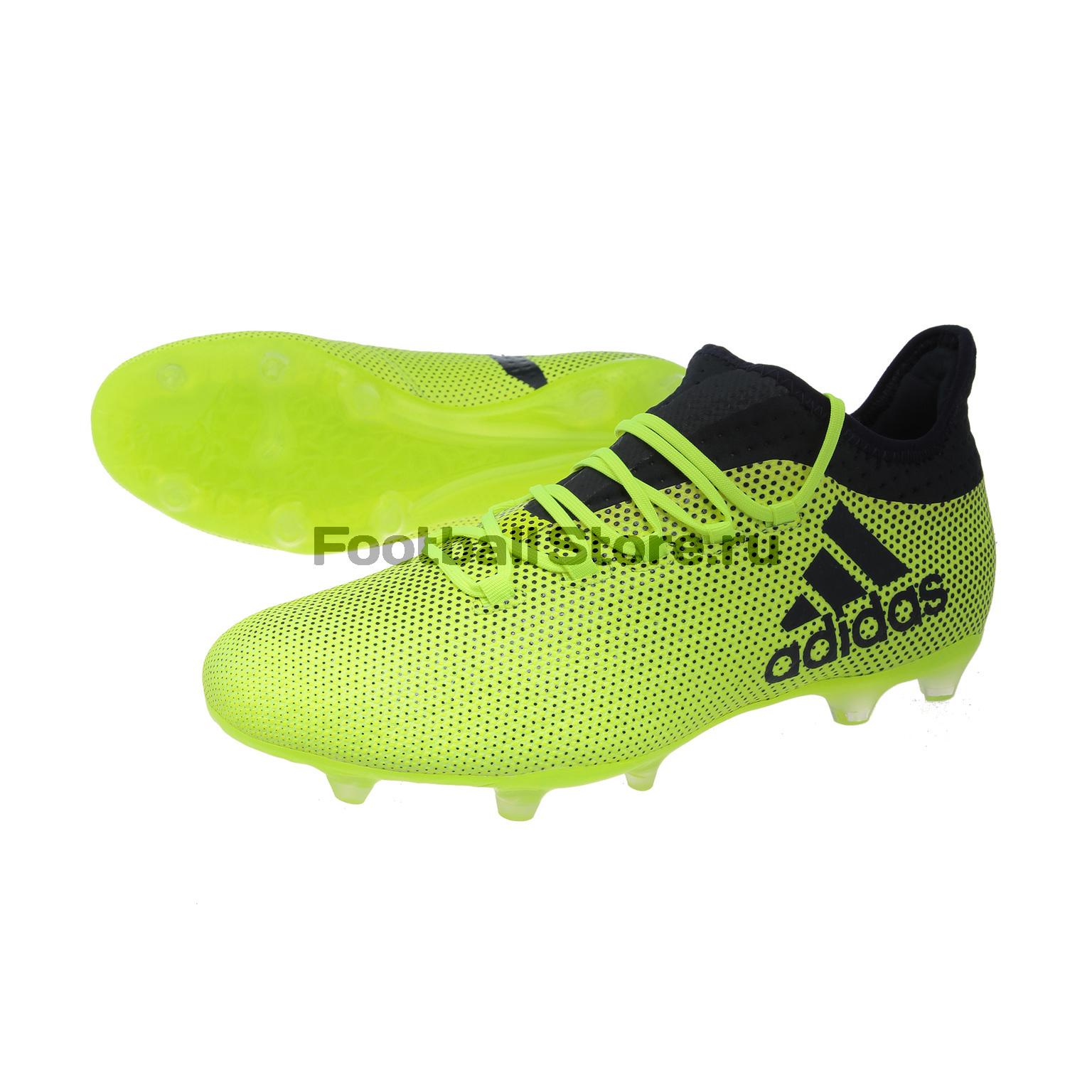 Бутсы Adidas X 17.2 FG S82325 детские бутсы nike бутсы nike jr phantom 3 elite df fg ah7292 081