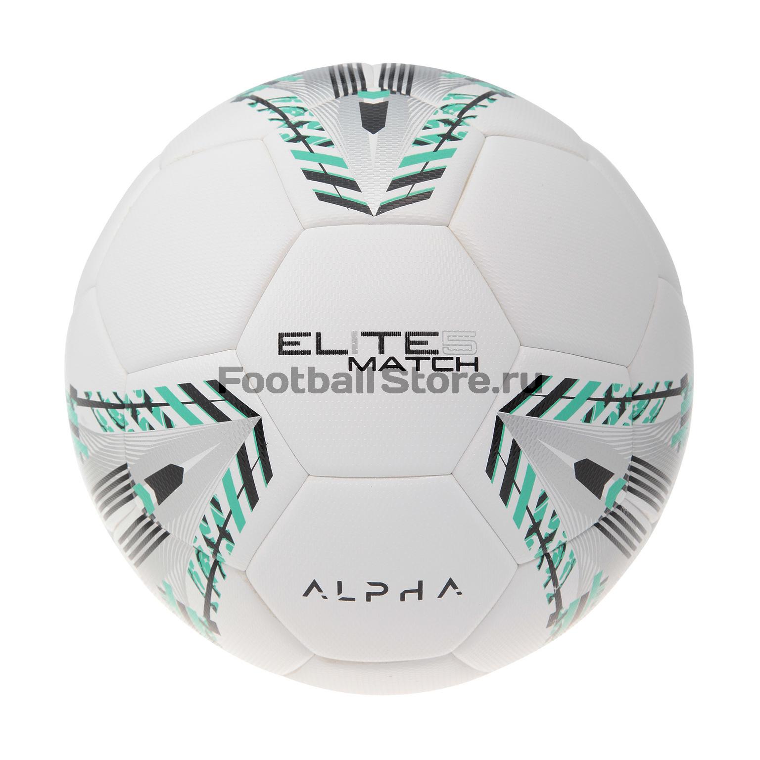 Футбольный мяч AlphaKeepers Elite Match 81017M5 футбольный мяч alpha keepers pro game 83017