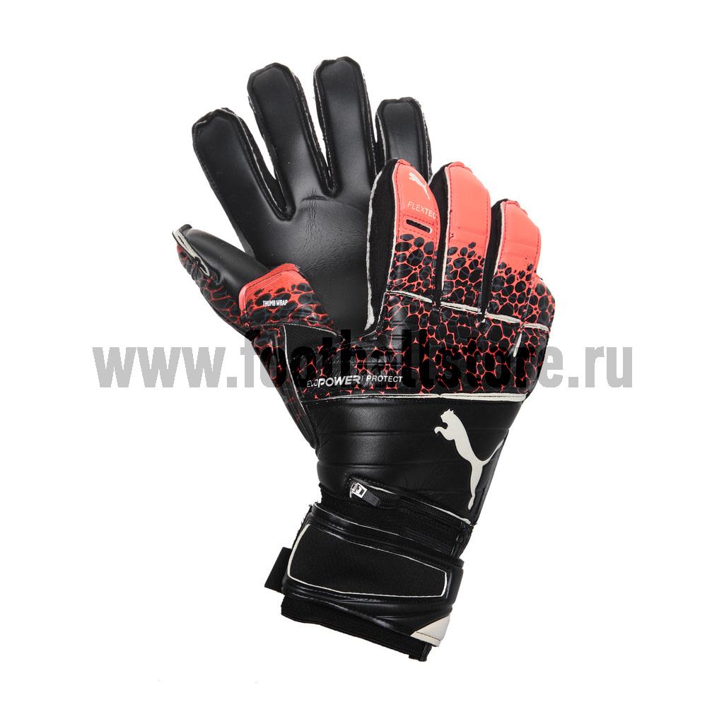 Перчатки Puma Перчатки Puma Power Protect 1.3 Fiery Copa 04121641 puma puma pu910782002