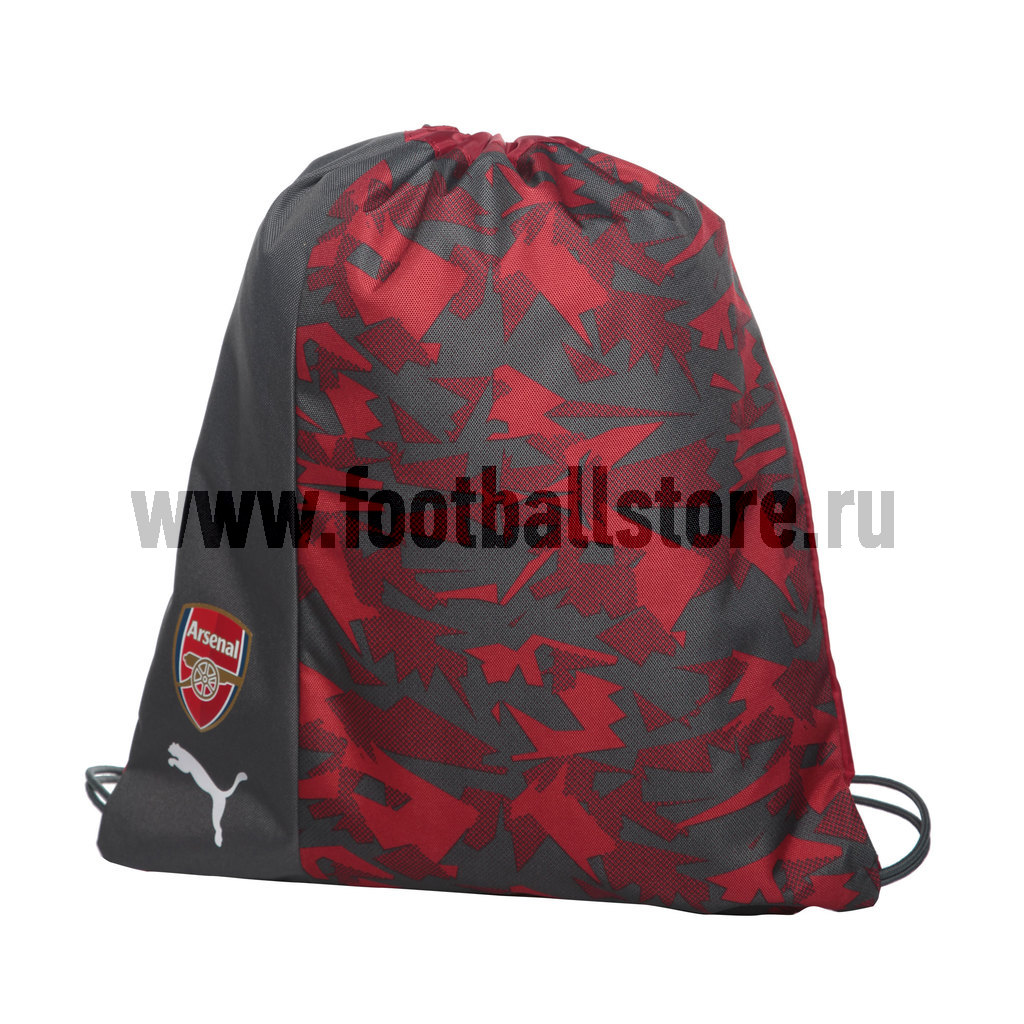 Сумка для обуви Puma Arsenal Camo Fan 07492401 шапки puma шапка arsenal reversible beanie