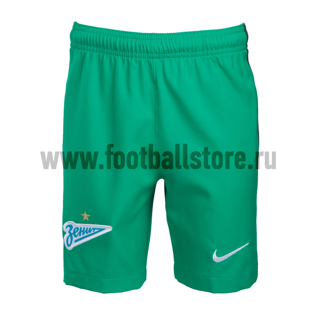 шорты детские Клубная продукция Nike Детские вратарские шорты Nike Zenit 808595-319