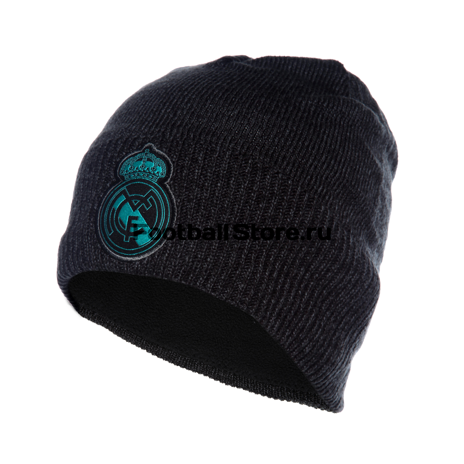 Real Madrid Adidas Шапка Adidas Real Madrid Beanie BR7165 real madrid adidas свитер adidas real madrid euhybrid top bq7851
