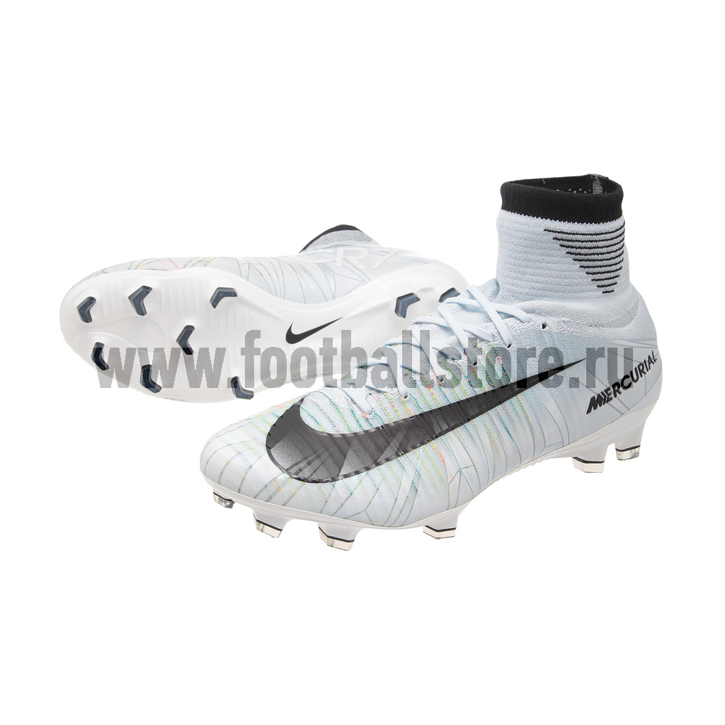 Бутсы Nike Mercurial Superfly V CR7 DF FG 852511-401 бутсы nike superfly academy gs cr7 jr fg mg aj3111 390