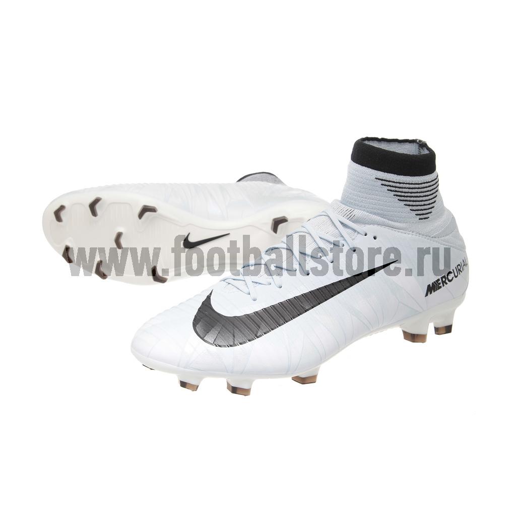 Бутсы Nike Mercurial Veloce III CR7 DF FG 852518-401 бутсы футбольные nike mercurial victory vi njr fg 921488 407 jr детские