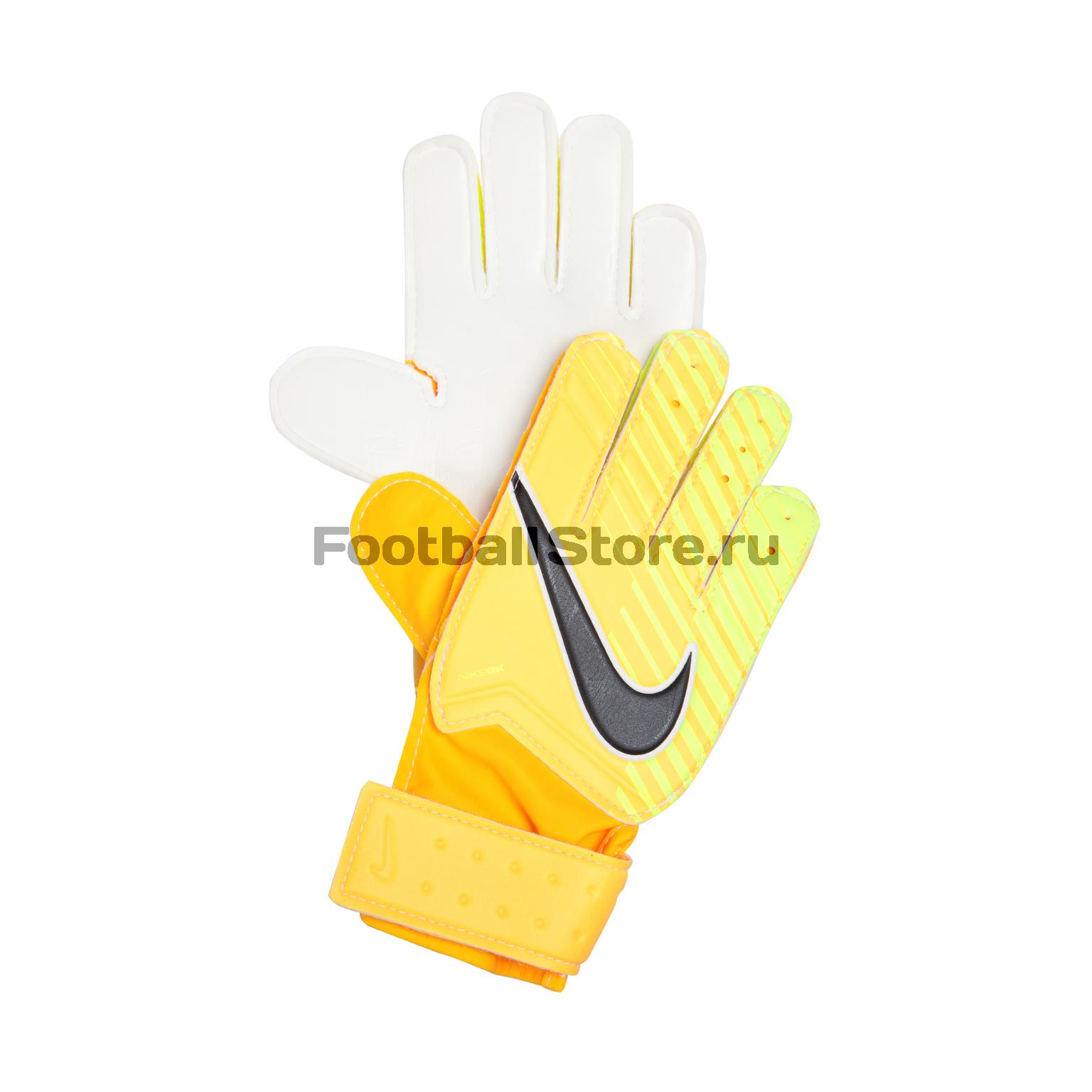 Перчатки вратарские Nike GK Match JR GS0343-845 детские бутсы nike бутсы nike jr phantom 3 elite df fg ah7292 081