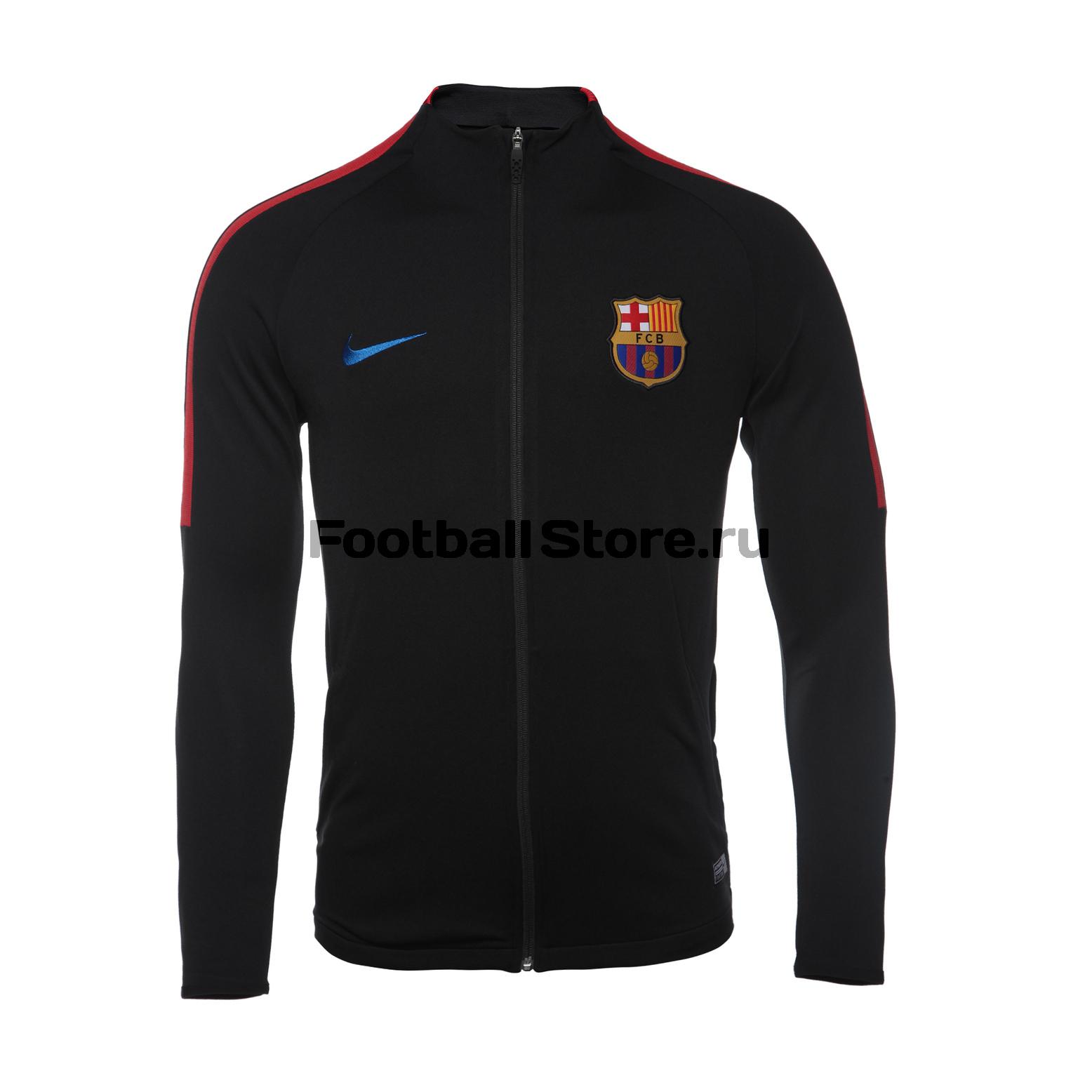 Олимпийка Nike Barcelona Dry Strike 858640-011 nike nike strike x woven