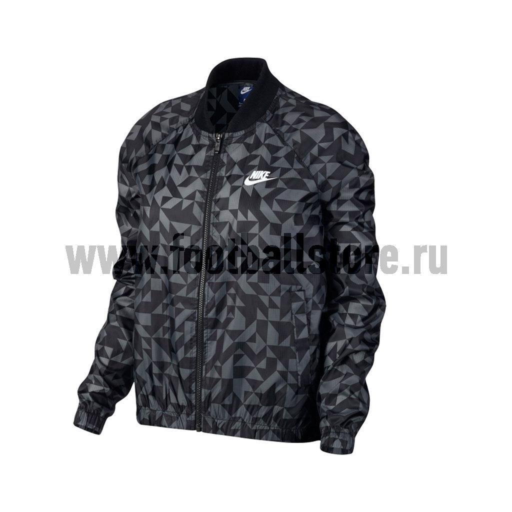 Куртки/Пуховики Nike Ветровка женская Nike Tangrams 829729-010 спортивная ветровка nike [15 2015 642861 413 010