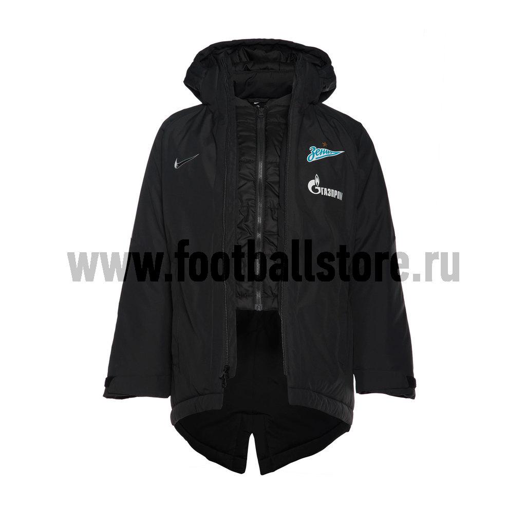 Клубная продукция Nike Куртка утепленная подростковая Nike Zenit 862917-061 туристический рюкзак nike bz9518 061 38 sb bz9518 323 061