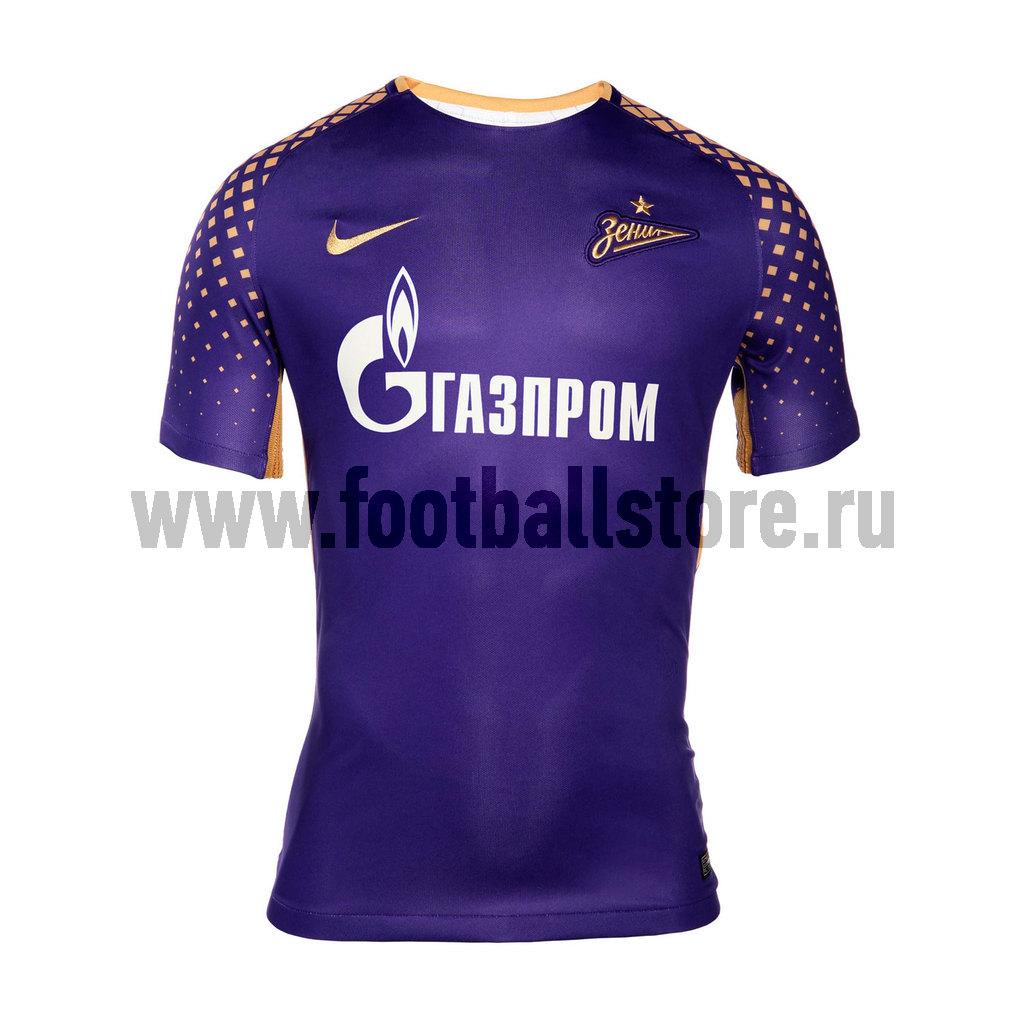 Оригинальная резервная футболка сезона 2017/2018 Nike Zenit 855873-547 цена 2017