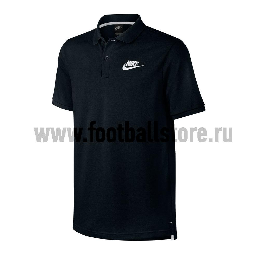 Поло Nike Поло Nike M NSW Polo PQ MatchP 829360-010 поло nike цвет голубой размер m