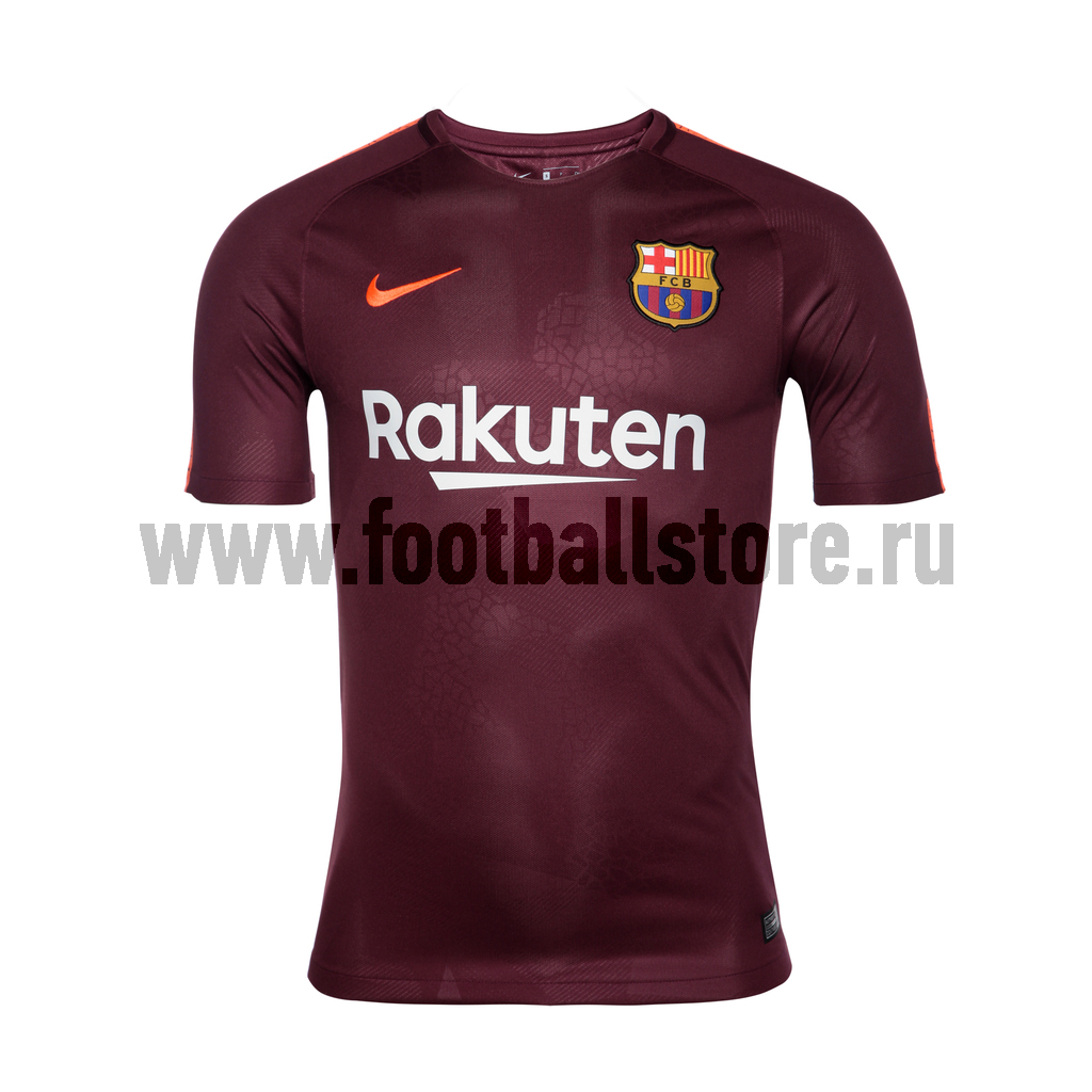Резервная игровая футболка Nike Barcelona Stadium 847253-683 футболка игровая домашняя nike barcelona 2018 19