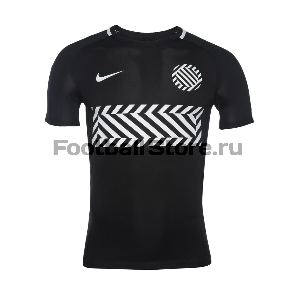 Футболка тренировочная Nike M NK Dry Academy Top 859930-010 nike m nk flx short 7in distance