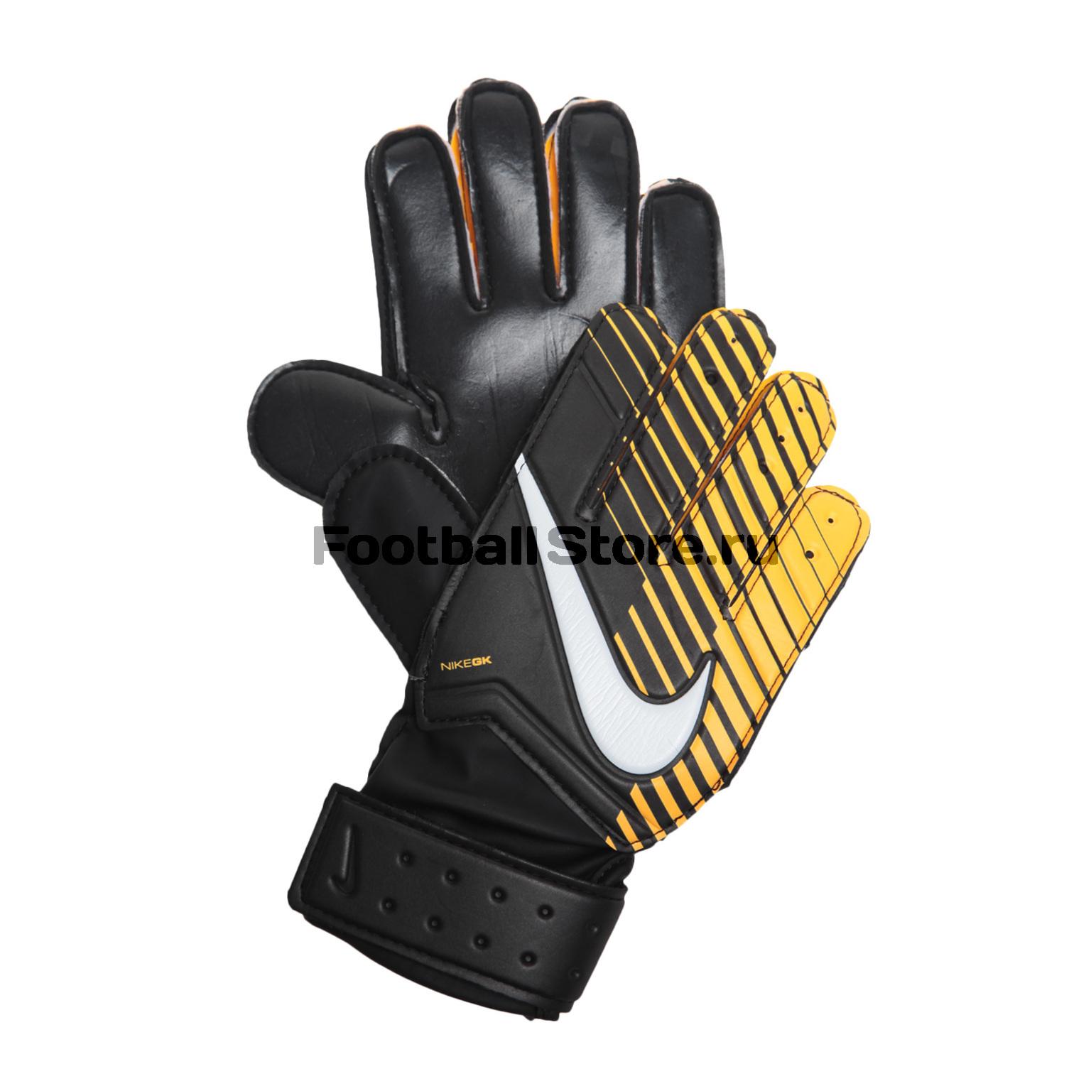 Перчатки вратарские Nike GK Match JR GS0343-010 детские бутсы nike бутсы nike jr phantom 3 elite df fg ah7292 081