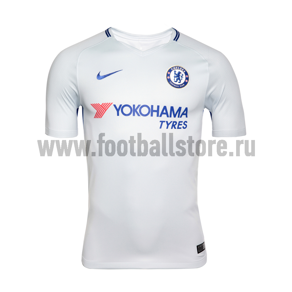 Футболка игровая Nike Chelsea Away 905512-044 футболки nike футболка игровая nike trophy iii 881483 410