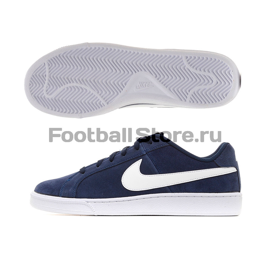 Кроссовки Nike Кроссовки Nike Court Royale Suede 819802-410 8pcs vinyl nail sticker scrub striping tape liner nail art tips decoration diy manicure nail decals strips roll mix colors 1 3mm