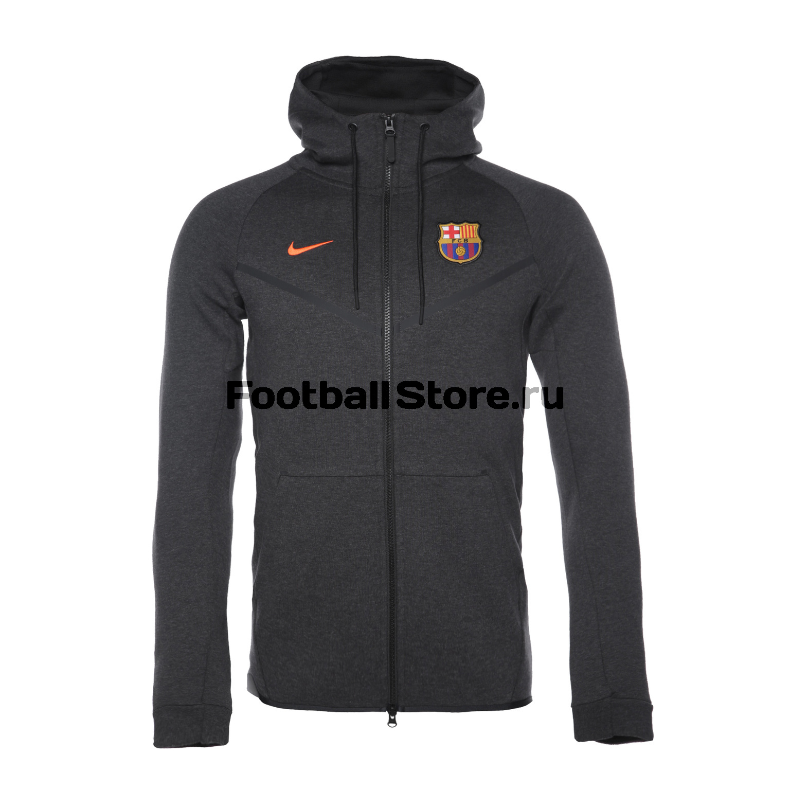 Толстовка Nike Barcelona TCH FLC AA1929-036 barcelona nike брюки тренировочные nike barcelona aa1935 036