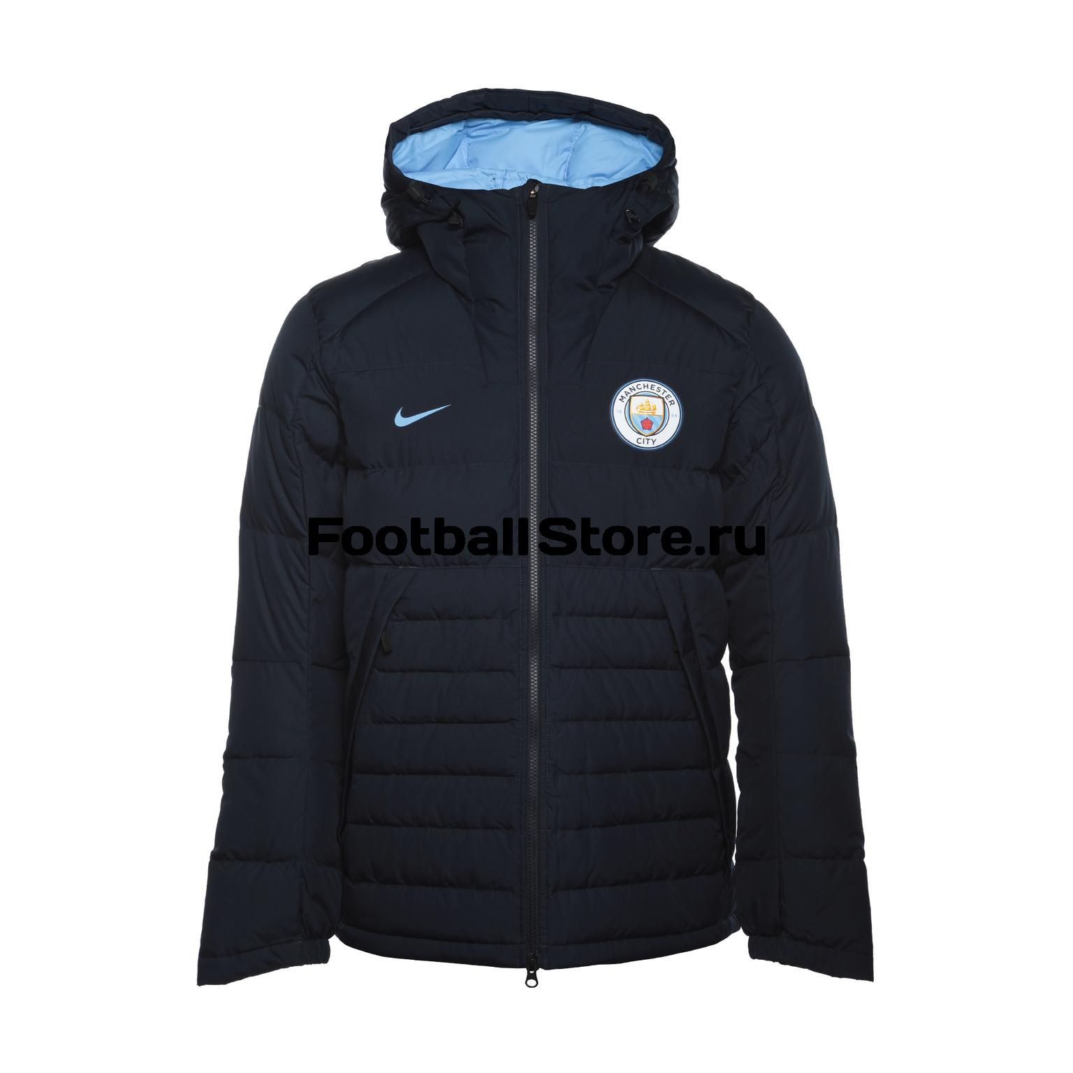 Куртки/Пуховики Nike Пуховик Nike Manchester City 886801-475