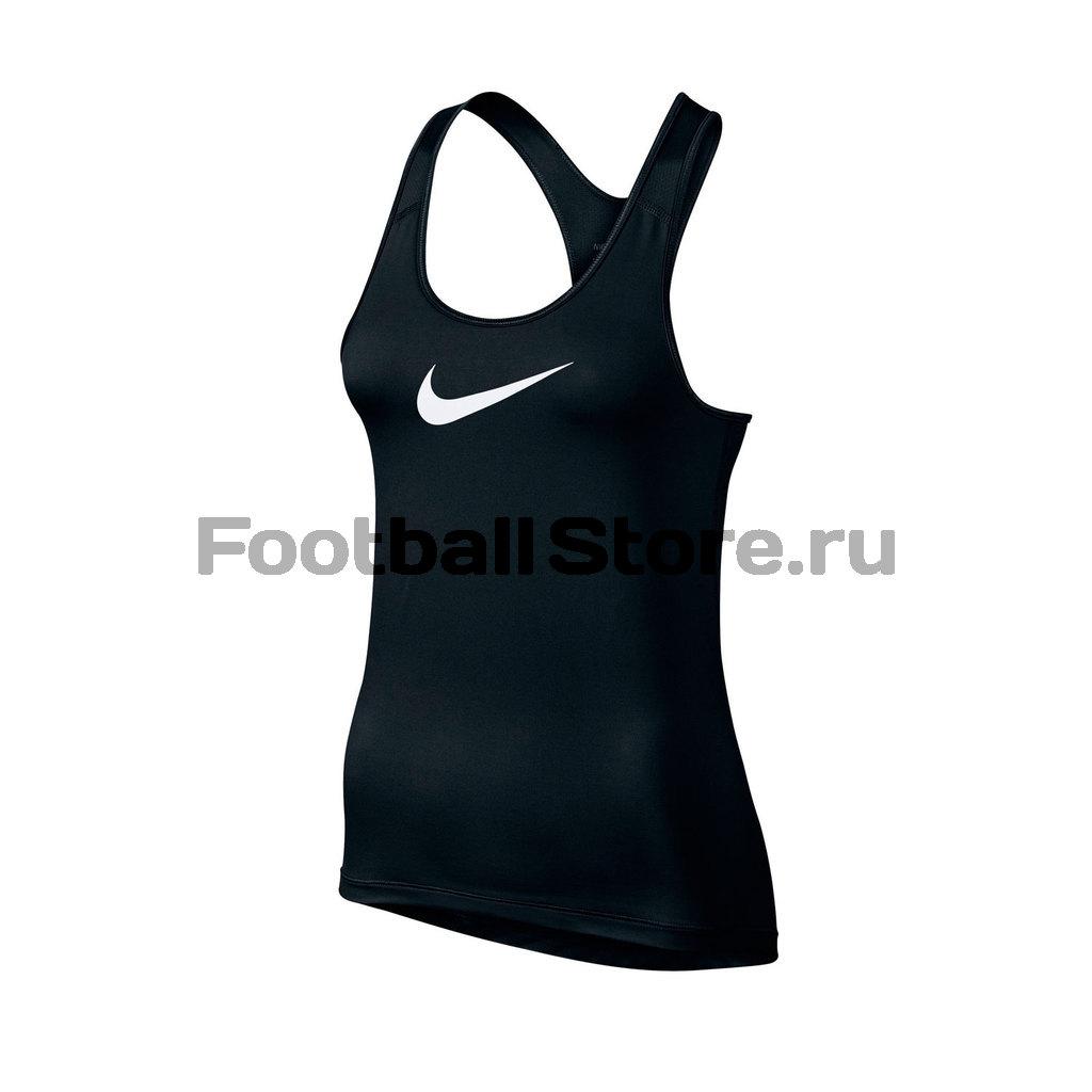 Майка женская Nike Pro Cool Tank 725489-010 топ nike топ get fit rugby stripe tank
