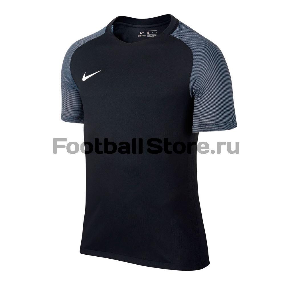 Игровая форма Nike Футболка игровая детская Nike SS YTH Revolution IV JSY 833018-010 футболки nike футболка игровая nike ss precision iv jsy 832975 100