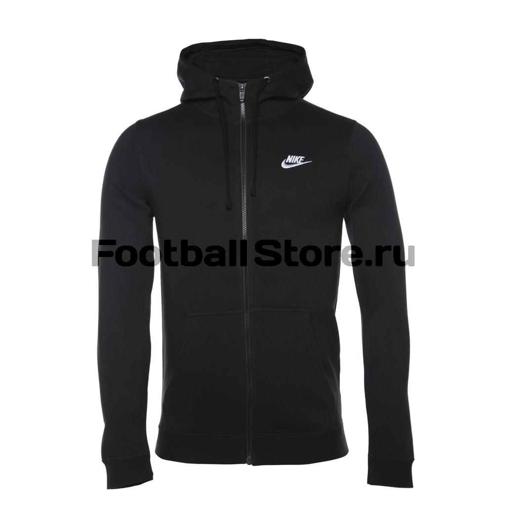 Толстовка Nike Hoodie FZ FLC Club 804389-010