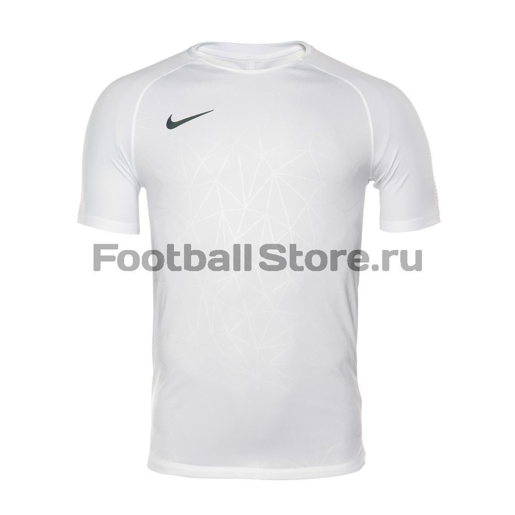 Тренировочная форма Nike Футболка тренировочная Nike CR7 Squad Top 882987-100 тренировочная установка 100
