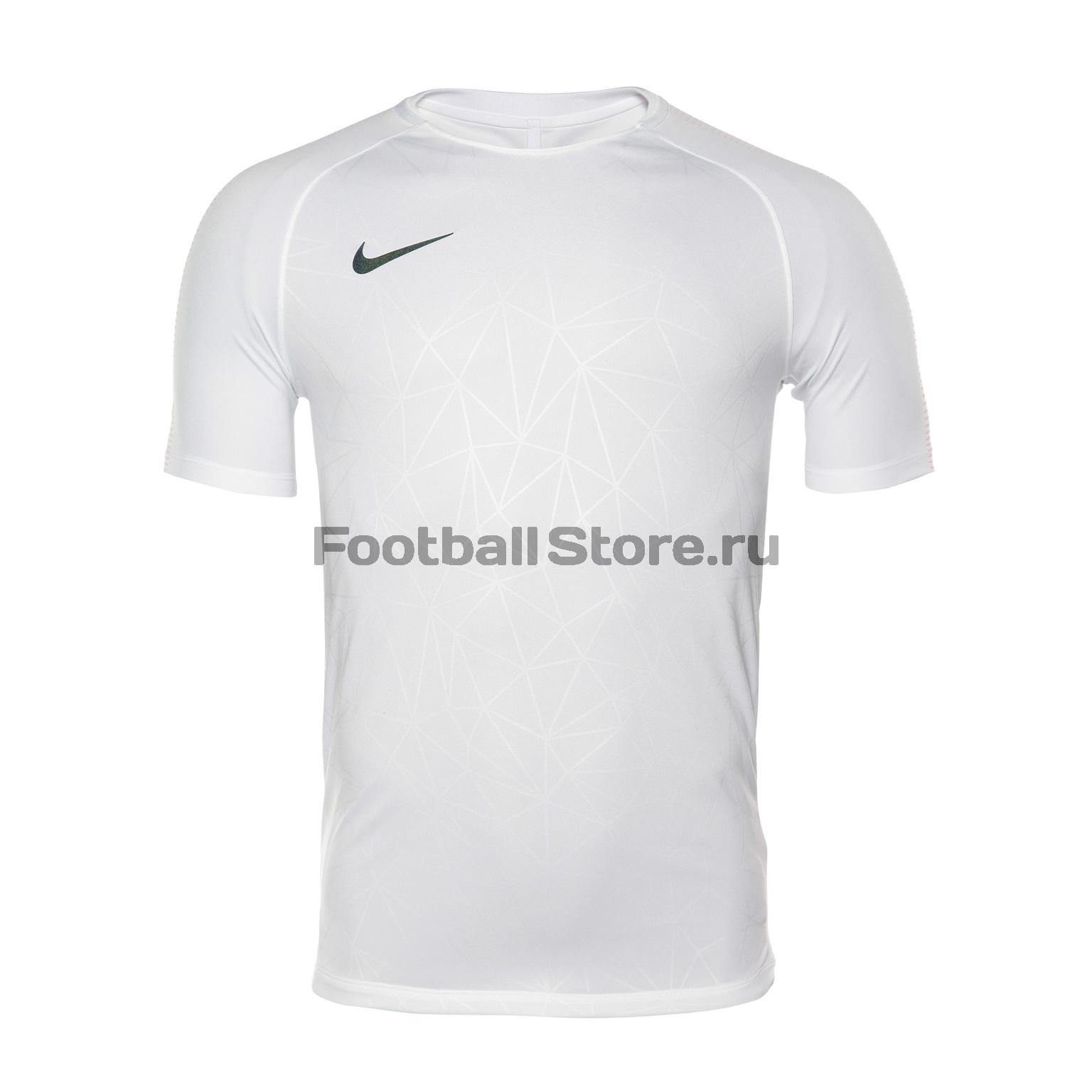 Футболка тренировочная Nike CR7 Squad Top 882991-100 футболки nike футболка тренировочная nike cr7 dry sqd top 845557 457