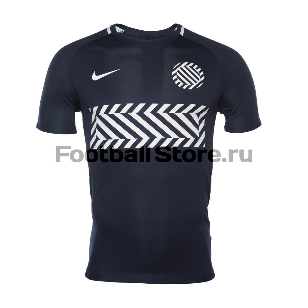 Футболка тренировочная Nike M NK Dry Academy Top 859930-451 nike kobe m nk top sl hprelt mesh