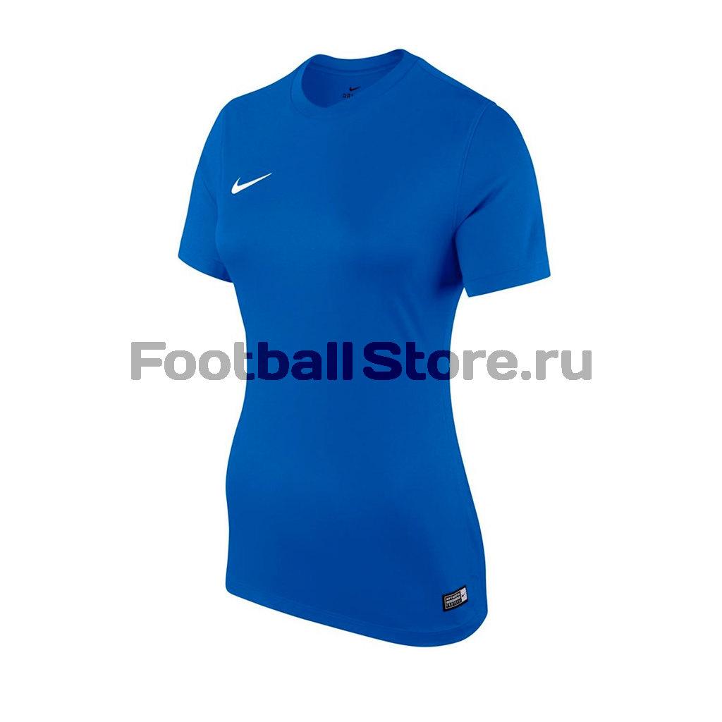 Футболка игровая женская Nike SS W Park VI JSY 833058-480 футболки nike футболка игровая nike ss revolution iv jsy 833017 010