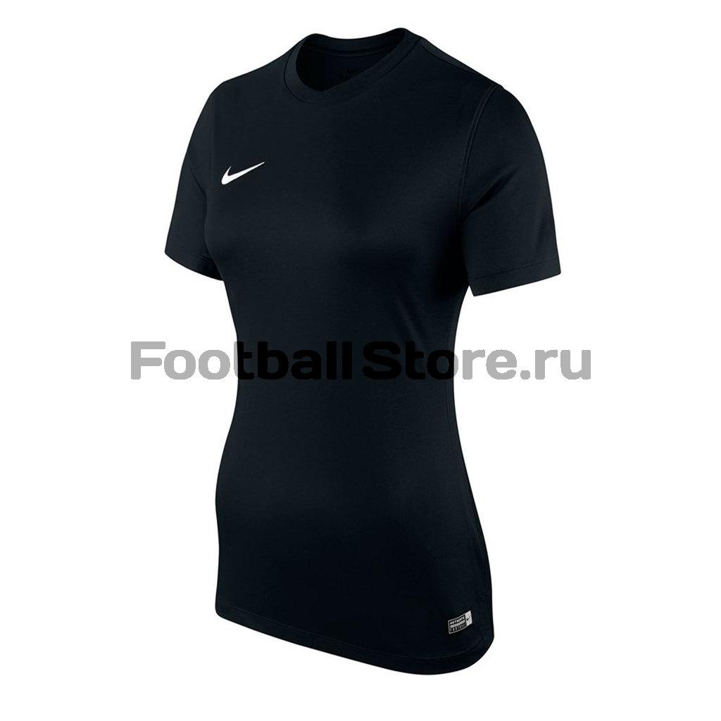 Футболка игровая женская Nike SS W Park VI JSY 833058-010 футболки nike футболка игровая nike ss revolution iv jsy 833017 010