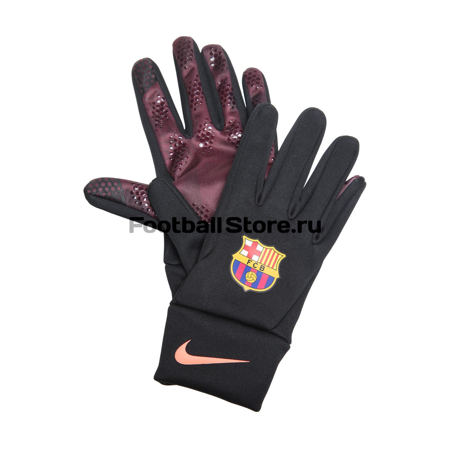 Перчатки тренировочные Nike Barcelona Stadium GS0348-010 barcelona nike брюки тренировочные nike barcelona aa1935 036