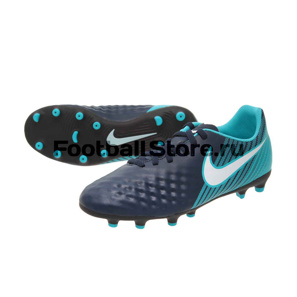 Бутсы Nike JR Magista Ola II FG 844204-414 бутсы nike superfly academy gs cr7 jr fg mg aj3111 390