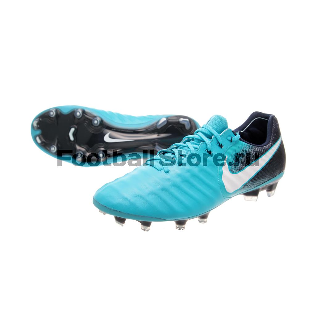 купить Игровые бутсы Nike Бутсы Nike Tiempo Legend VII FG 897752-414 дешево