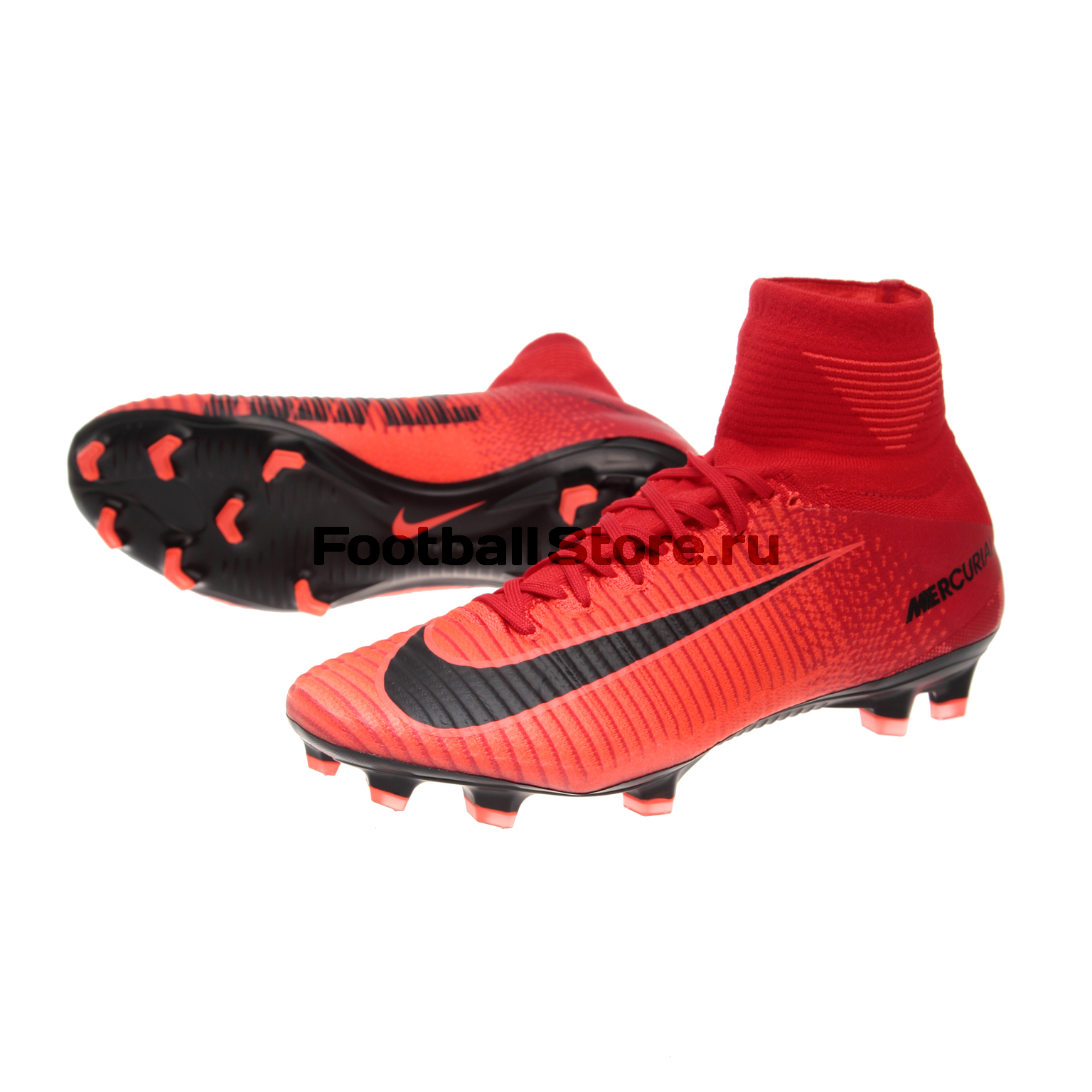 Игровые бутсы Nike Бутсы Nike Mercurial Superfly V DF FG 831940-616 игровые бутсы nike бутсы nike mercurial superfly v df fg 831940 801