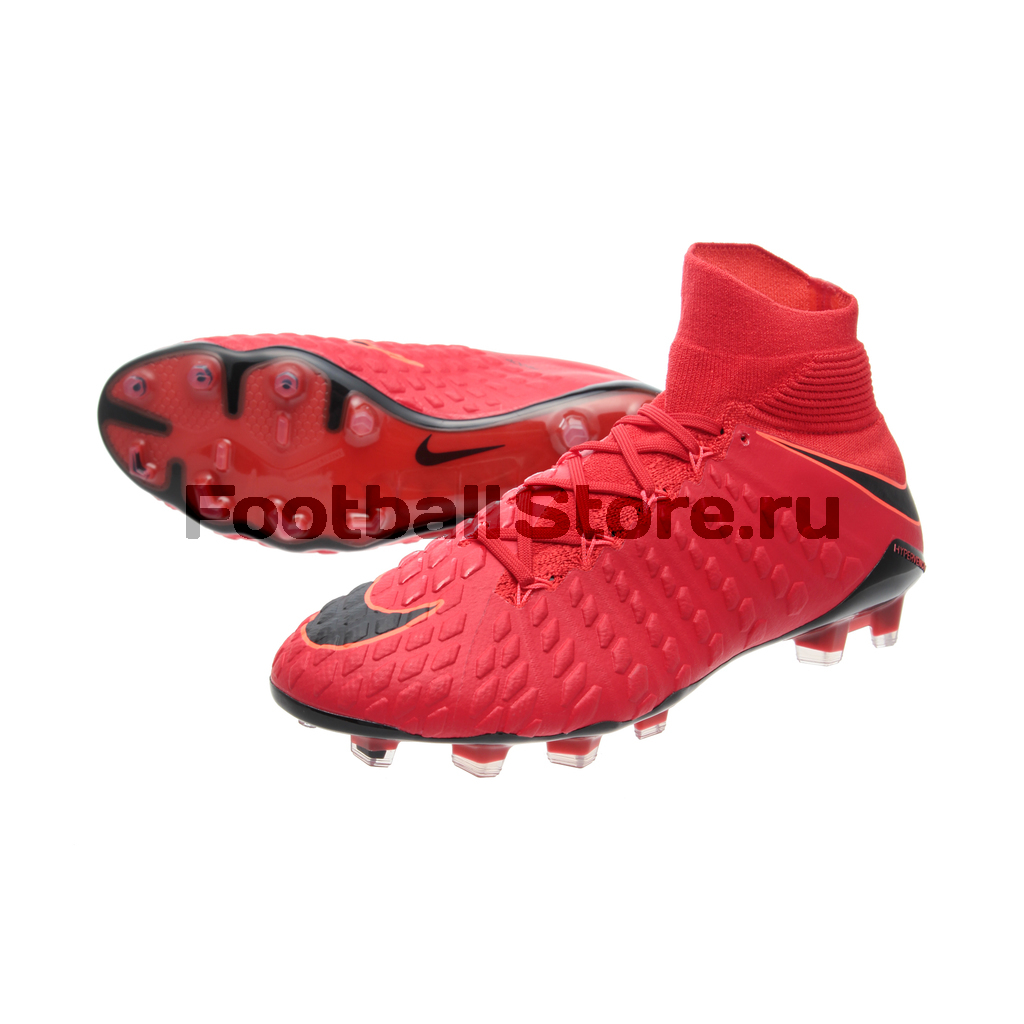 Игровые бутсы Nike Бутсы Nike HyperVenom Phantom III DF FG 860643-616 phantom phantom ph2139