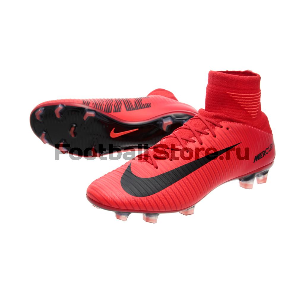 Игровые бутсы Nike Бутсы Nike Mercurial Veloce III DF FG 831961-616 nike nike mercurial lite
