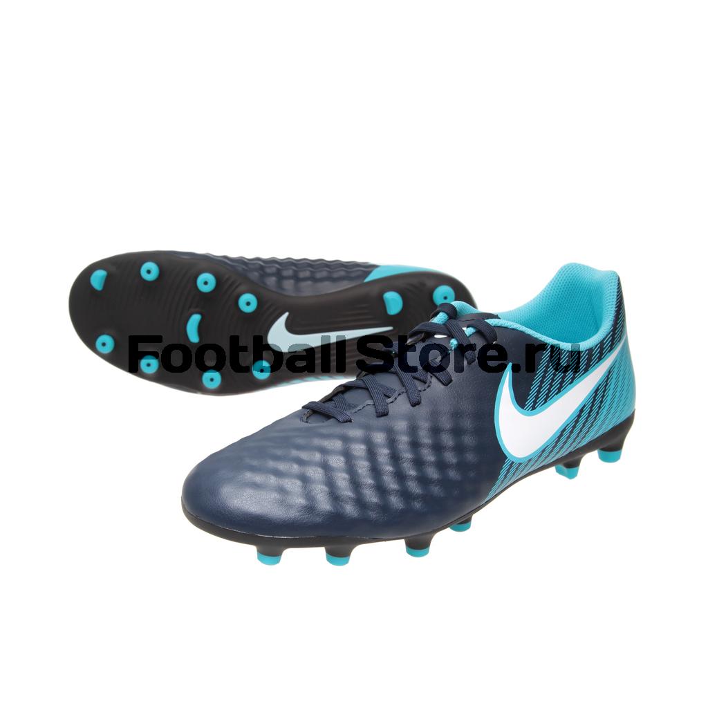 Игровые бутсы Nike Бутсы Nike Magista Ola II FG 844420-414 nike бутсы magista ola fg