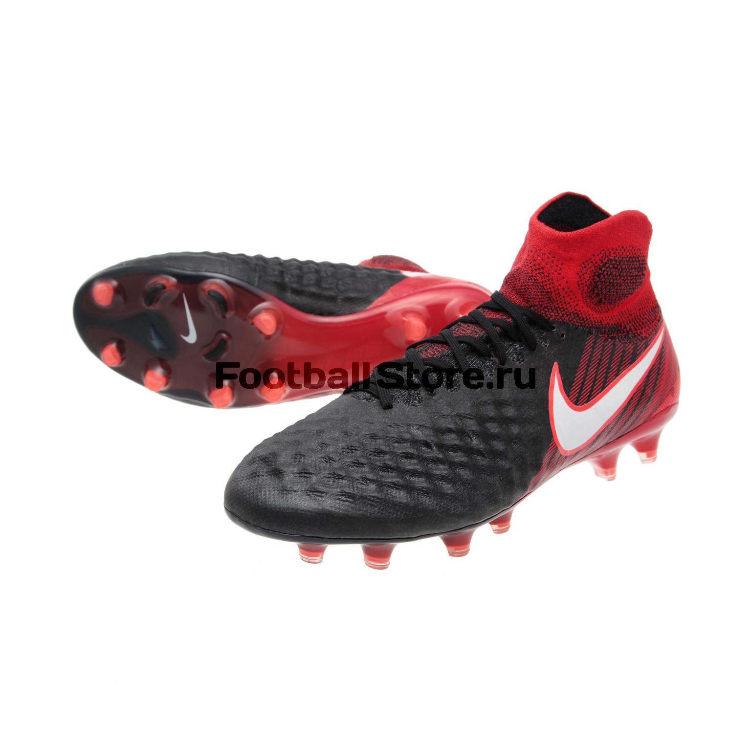 Бутсы Nike Magista Obra II FG 844595-061 бутсы футбольные nike obra ii academy df fg ah7313 080 jr детские т сер оранж