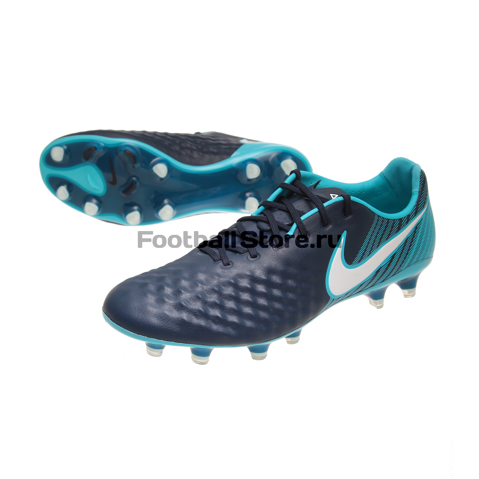 Бутсы Nike Magista Opus II FG 843813-414 бутсы nike tiempo rio ii tf 631289 470 858