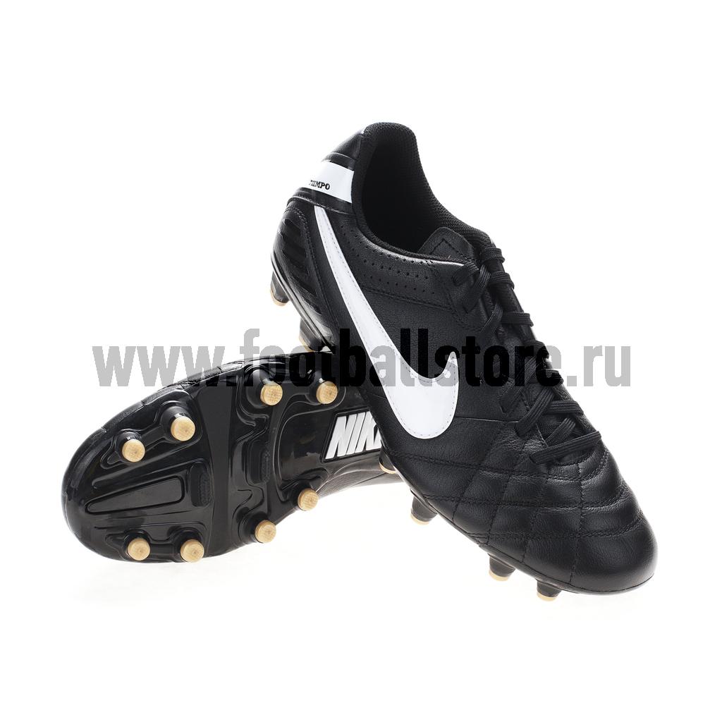 Игровые бутсы Nike Бутсы Nike Tiempo Natural IV LTR FG 509085-012